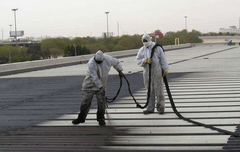 bv1946伟德备用屋顶漏水施工项目